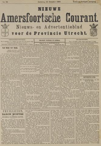 Nieuwe Amersfoortsche Courant 1903-10-31