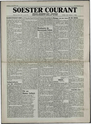 Soester Courant 1949-12-23