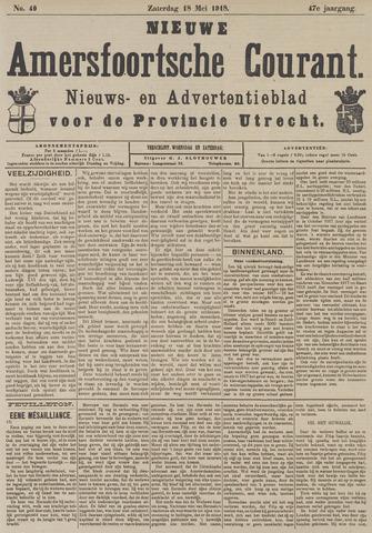 Nieuwe Amersfoortsche Courant 1918-05-18