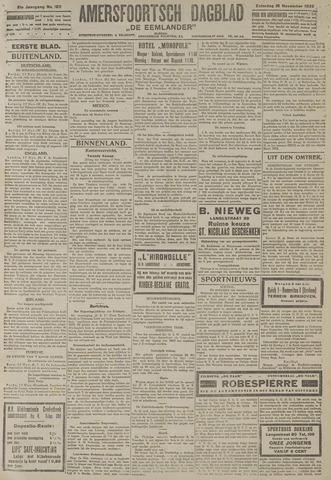 Amersfoortsch Dagblad / De Eemlander 1922-11-18