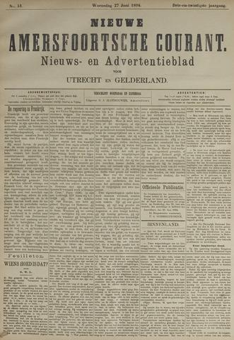 Nieuwe Amersfoortsche Courant 1894-06-27