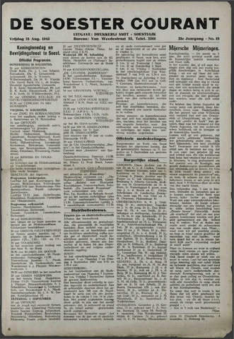 Soester Courant 1945-08-31