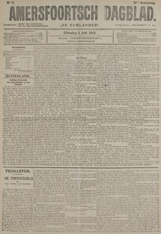 Amersfoortsch Dagblad / De Eemlander 1916-07-04