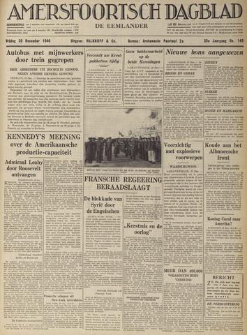 Amersfoortsch Dagblad / De Eemlander 1940-12-20