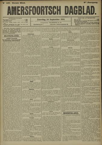 Amersfoortsch Dagblad 1910-09-24