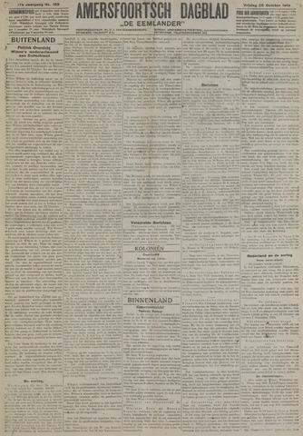 Amersfoortsch Dagblad / De Eemlander 1918-10-25