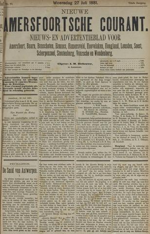 Nieuwe Amersfoortsche Courant 1881-07-27