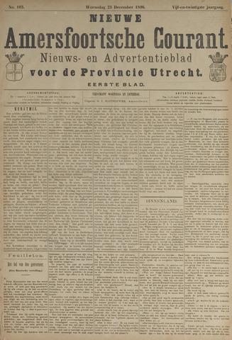 Nieuwe Amersfoortsche Courant 1896-12-23