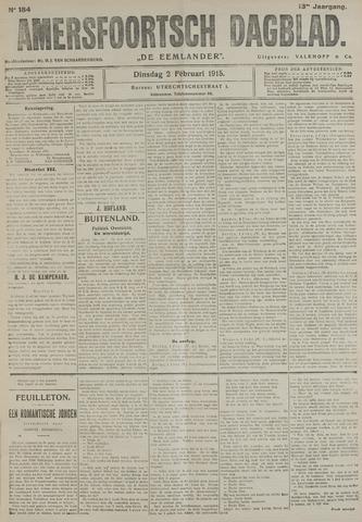 Amersfoortsch Dagblad / De Eemlander 1915-02-02