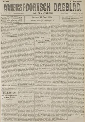 Amersfoortsch Dagblad / De Eemlander 1913-04-22