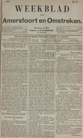 Weekblad voor Amersfoort en Omstreken 1872-05-25
