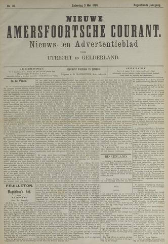 Nieuwe Amersfoortsche Courant 1890-05-03