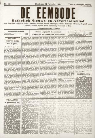 De Eembode 1908-12-24