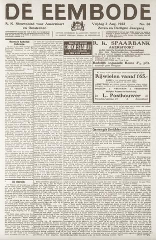 De Eembode 1923-08-03
