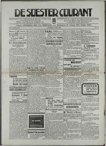Soester Courant 1941-05-09