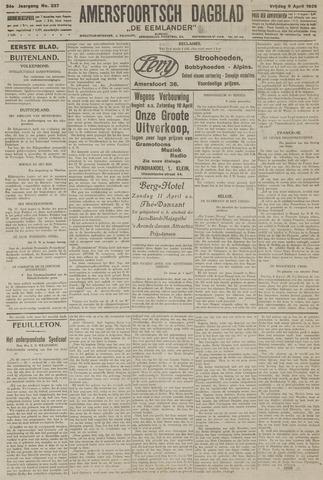 Amersfoortsch Dagblad / De Eemlander 1926-04-09