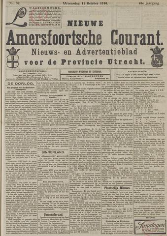 Nieuwe Amersfoortsche Courant 1916-10-11