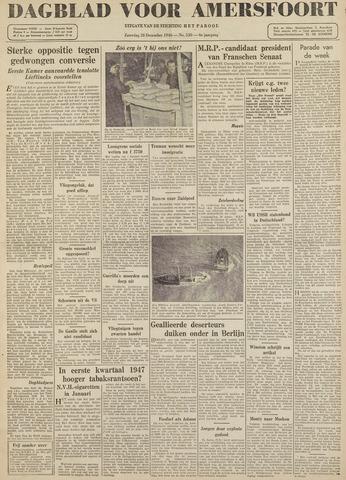 Dagblad voor Amersfoort 1946-12-28