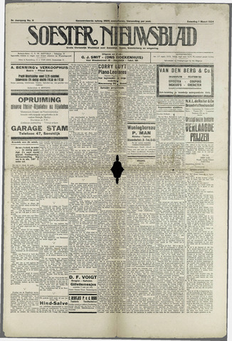 Soester Courant 1924-03-01