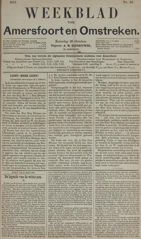 Weekblad voor Amersfoort en Omstreken 1872-10-26