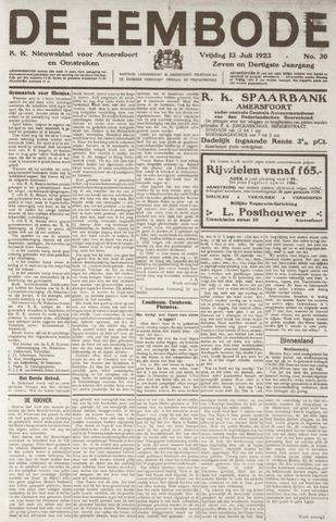 De Eembode 1923-07-13