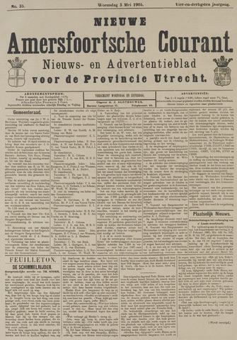Nieuwe Amersfoortsche Courant 1905-05-03