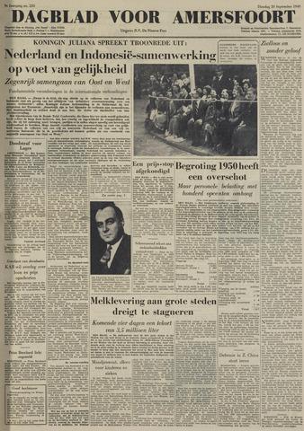 Dagblad voor Amersfoort 1949-09-20