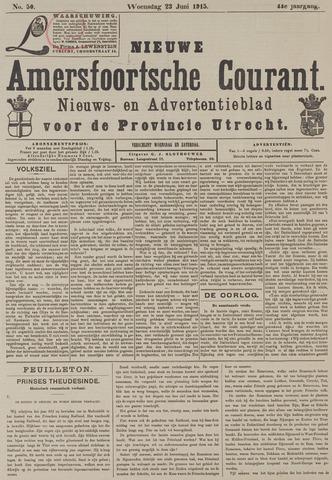 Nieuwe Amersfoortsche Courant 1915-06-23