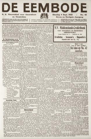 De Eembode 1923-09-04