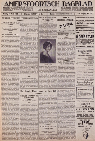 Amersfoortsch Dagblad / De Eemlander 1935-04-30