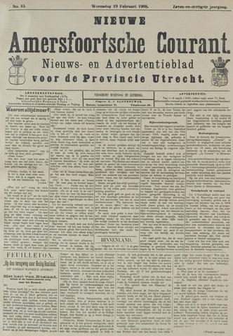 Nieuwe Amersfoortsche Courant 1908-02-19