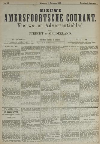 Nieuwe Amersfoortsche Courant 1888-12-12