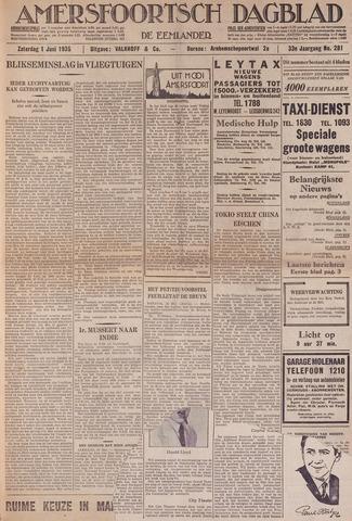 Amersfoortsch Dagblad / De Eemlander 1935-06-01