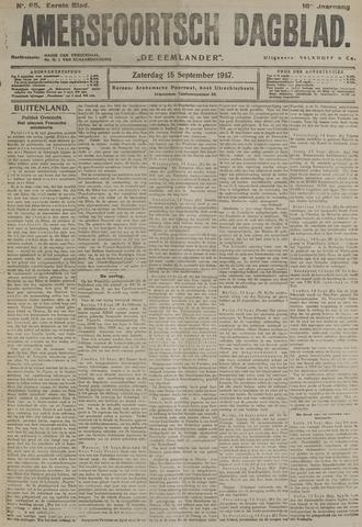 Amersfoortsch Dagblad / De Eemlander 1917-09-15