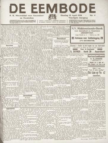 De Eembode 1926-04-13
