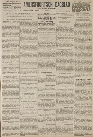 Amersfoortsch Dagblad / De Eemlander 1927-08-09