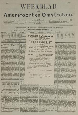 Weekblad voor Amersfoort en Omstreken 1878-01-25