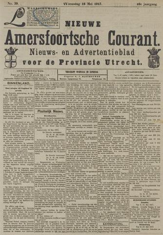 Nieuwe Amersfoortsche Courant 1917-05-16