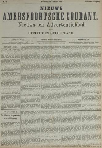 Nieuwe Amersfoortsche Courant 1886-02-10