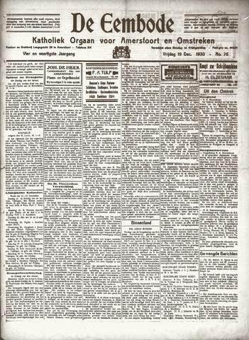 De Eembode 1930-12-19