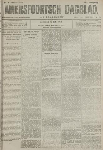 Amersfoortsch Dagblad / De Eemlander 1913-07-12