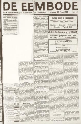 De Eembode 1922-08-25