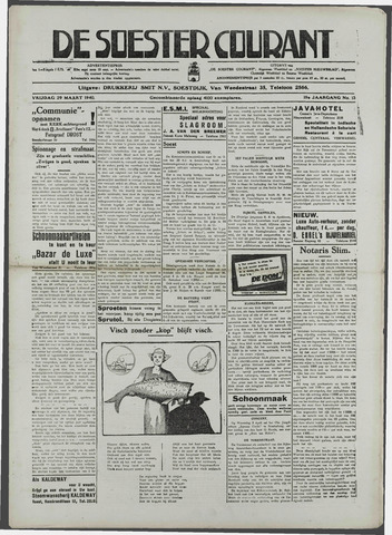 Soester Courant 1940-03-29