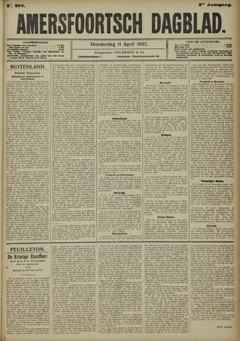 Amersfoortsch Dagblad 1907-04-11