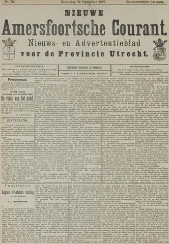 Nieuwe Amersfoortsche Courant 1897-09-29