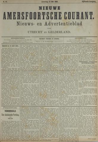 Nieuwe Amersfoortsche Courant 1886-05-22