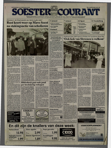 Soester Courant 2000-02-16