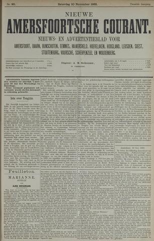 Nieuwe Amersfoortsche Courant 1883-11-10