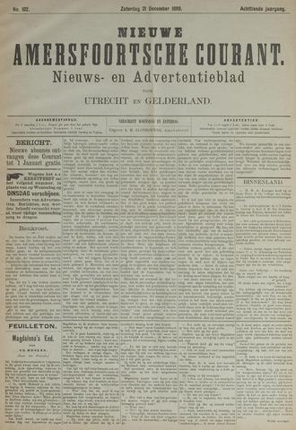 Nieuwe Amersfoortsche Courant 1889-12-21