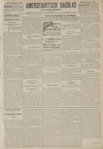 Amersfoortsch Dagblad / De Eemlander 1927-04-12